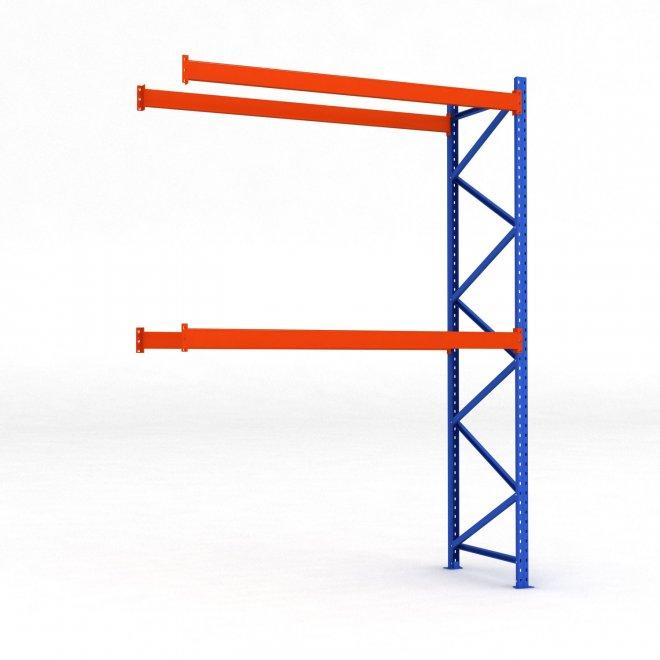 Tillbyggnadsdel pallställ   H: 400 L: 270 cm