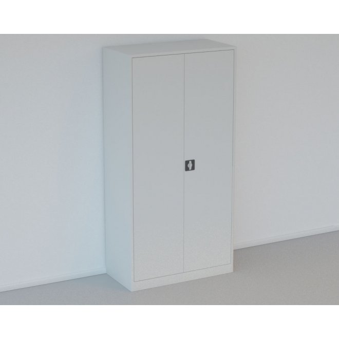 Materialeskab i Stål - H: 200 x L: 100 x D: 60 cm