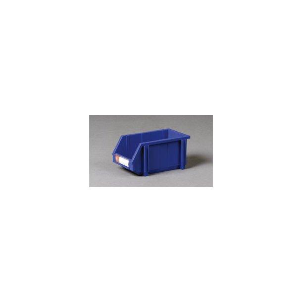 Plastkasse med labelholder L: 35 x B: 20 x H: 15.5 cm
