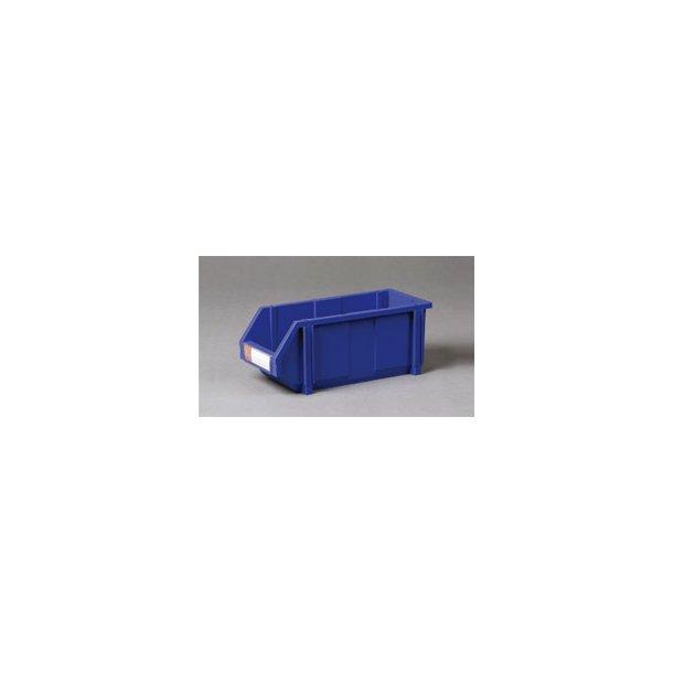Plastkasse med labelholder L: 45 x B: 20 x H: 18 cm