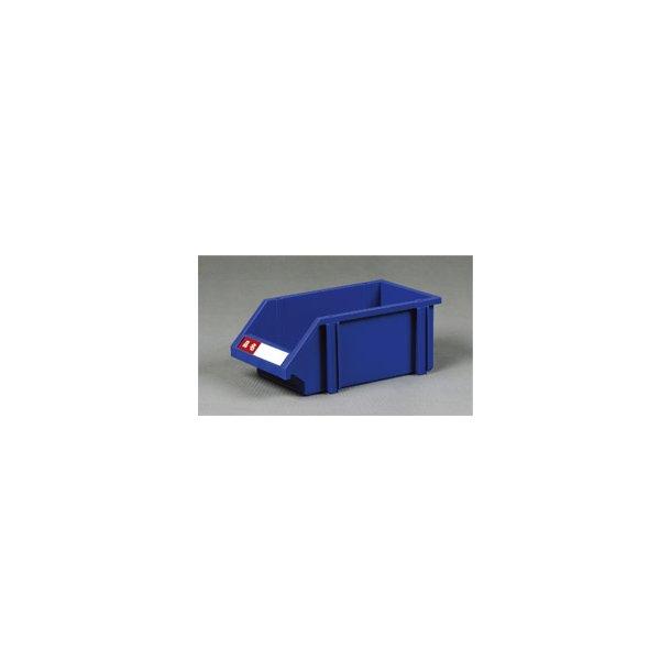 Plastkasse med labelholder L: 31 x B: 19 x H: 13 cm