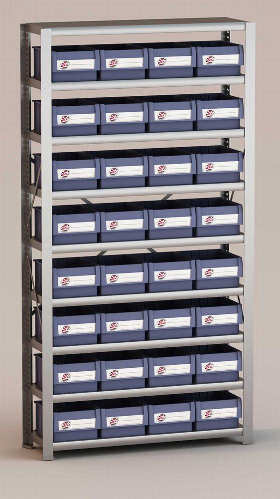 Image of   Arkivreol med 32 plastskuffer D: 30 cm
