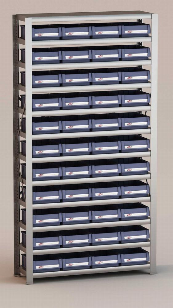 Image of   Arkivreol med 44 plastkasser D: 30 cm