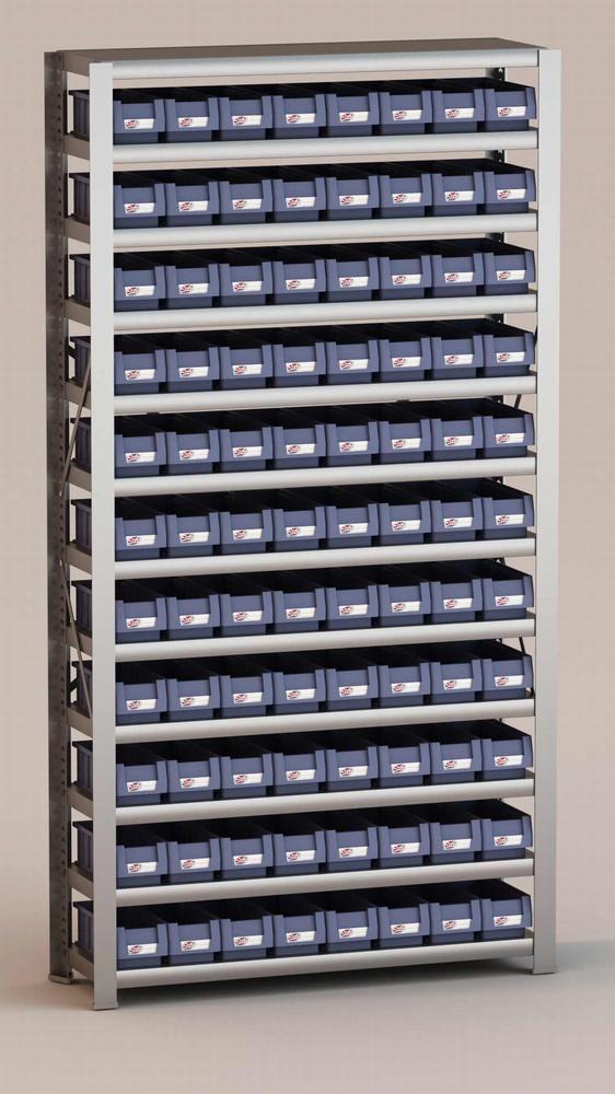 Image of   Arkivreol med 88 plastkasser D: 30 cm
