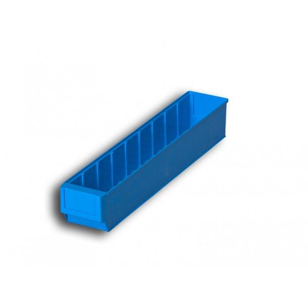 Plukkasse i blå   L: 50 x B: 9.1 x H: 8.1 cm
