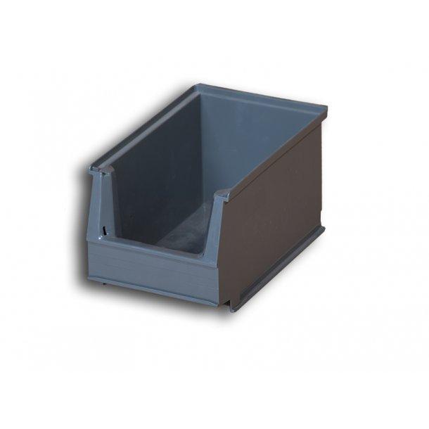Plukkasse i grå | L: 23 x B: 15 x H: 13 cm