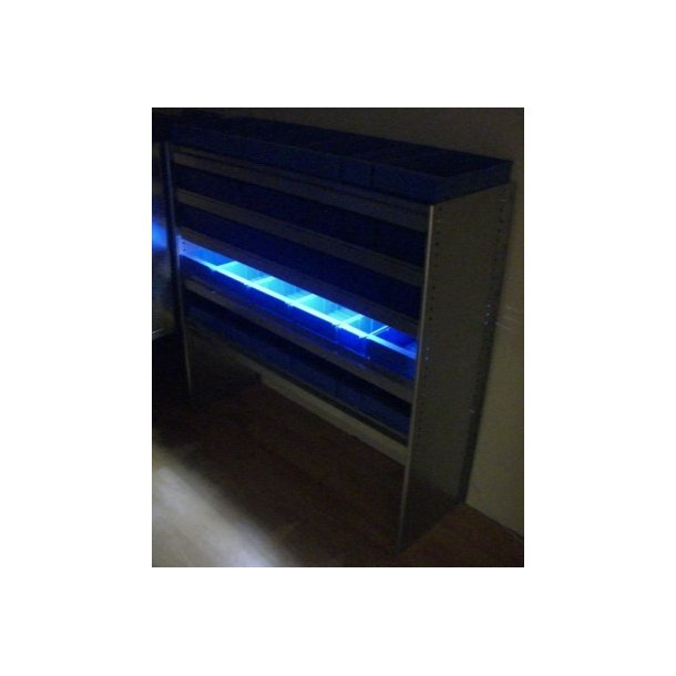 LED lys til bilreol